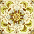 Antique Tinted Tile Royalty Free Stock Photo
