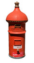 Antique Victorian Australia Post Mail Box Royalty Free Stock Photo