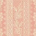 Antique Vintage Floral Bohemian Background