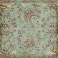 Antique Vintage paisley indian background Royalty Free Stock Images