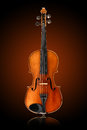 Antique violin Royalty Free Stock Photo