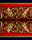 Antique wood carving Royalty Free Stock Photos