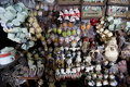 Antiques market various sold at an in the city of solo central java indonesia Royalty Free Stock Photo