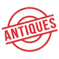 Antiques rubber stamp Royalty Free Stock Photo