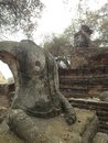 Antiquities in thailand Royalty Free Stock Photos