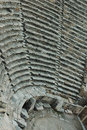 Antiquity amphitheatre Stock Photos