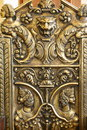 Antiquity i made in bronze beautifully decorated Royalty Free Stock Photo