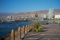 Antofagasta the city of on the coast of the pacific in the atacama region of chile is the second largest city in chile Royalty Free Stock Photos