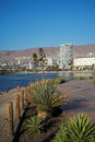 Antofagasta the city of on the coast of the pacific in the atacama region of chile is the second largest city in chile Stock Photo
