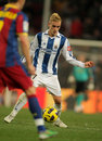 Antoine Griezmann of Real Sociedad Stock Photography