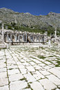 Antoninus fountain of sagalassos in isparta turkey Stock Photography