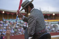Antonio domecq bullfighter on horseback spanish baeza jaen province spain august Stock Photography