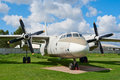 Antonov An-26 plane Royalty Free Stock Images