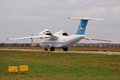 Antonov an t ur antonov design bureau ukraine hostomel airport october Stock Photo