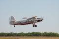 Antonov An-3 turboprop biplane Royalty Free Stock Photo