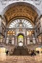 Antwerp Central Station ANTWERP- FEBRUARY 3rd. 2015