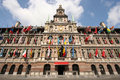 Antwerp City Hall Royalty Free Stock Image