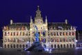 Antwerp city hall Royalty Free Stock Images