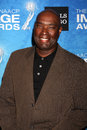 Antwone fisher los angeles feb arrives at the naacp image awards nominee reception at beverly hills hotel on february in beverly Royalty Free Stock Images