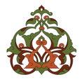 Antykwarski projekt ilustraci ottoman Zdjęcie Royalty Free
