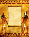 Anubis and Horus Royalty Free Stock Image