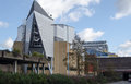 Anvil concert hall basingstoke view of the landmark in hampshire Stock Photography