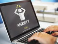 Anxiety Angst Disorder Stress Tension Concept Royalty Free Stock Photo
