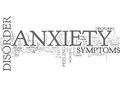 Anxiety Disorder And Changed Livesword Cloud Royalty Free Stock Photo