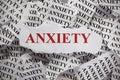 Anxiety Royalty Free Stock Photo