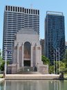 Anzac war memorial in hyde park sydney new south wales australia Royalty Free Stock Images