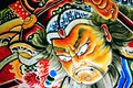 Aomori floats october in aomori jp the floats are used during the nebuta festival which is one of the largest festivals of the Stock Image