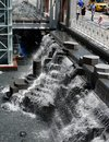 AON Waterfall Royalty Free Stock Photo