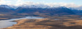 Aoraki góra Cook od Mt John widoku Fotografia Royalty Free