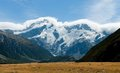 Aoraki / Mount Cook Royalty Free Stock Photo