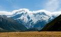 Aoraki / Mount Cook Royalty Free Stock Photo