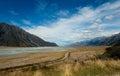 Aoraki / Mount Cook National Park Royalty Free Stock Photo