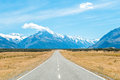 Aoraki Mount Cook National Park,NZ Royalty Free Stock Photo