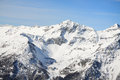 Aosta valley winter landscape in Stock Photos
