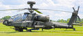 Apache helicopter army attack gunship panorama Royalty Free Stock Photography