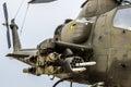 Apache helicopter vietnam era Royalty Free Stock Photo
