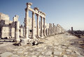 Apamea ruins, Syria Royalty Free Stock Photo