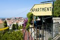Apartament sign in dubrovnik croatia Royalty Free Stock Photography