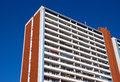 Apartment building in East Berlin Royalty Free Stock Photo