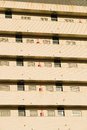 Apartment building facade Royalty Free Stock Images
