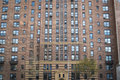 Apartment building manhattan new york city in greenwich village Stock Photos