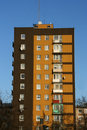 Apartment building in Poland Stock Images