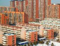 Apartment buildings, Beijing Royalty Free Stock Photography