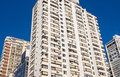 Apartment buildings in Buenos Aires Royalty Free Stock Photo