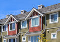 Apartment buildings modern in richmond british columbia canada Stock Image