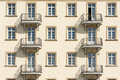 Apartment Complex Facade Royalty Free Stock Photo